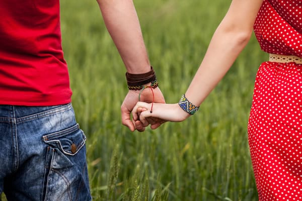 Dating and holding hands